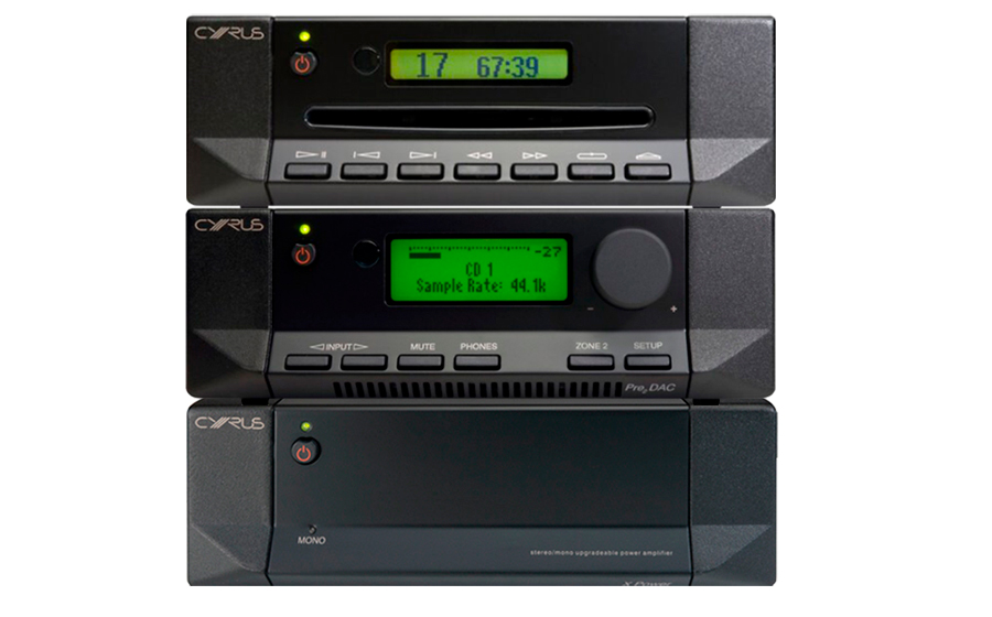 Cyrus Pre2 DAC QXR + X Power + CD T - 42920