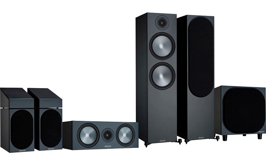 Monitor Audio Bronze 500 HCM 5.1.2 - 43116