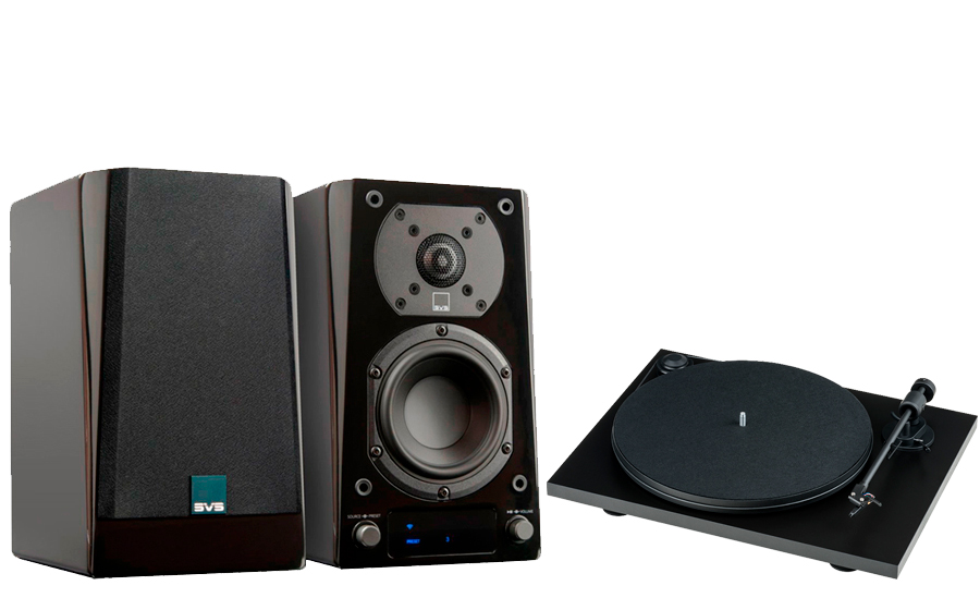 SVS Prime Wireless Speaker System + Primary E Phono - 43150
