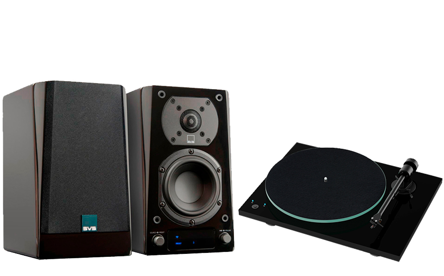 SVS Prime Wireless Speaker System + T1 Phono SB - 43151