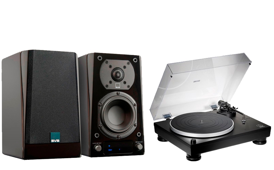 SVS Prime Wireless Speaker System + AT-LP5X - 43152