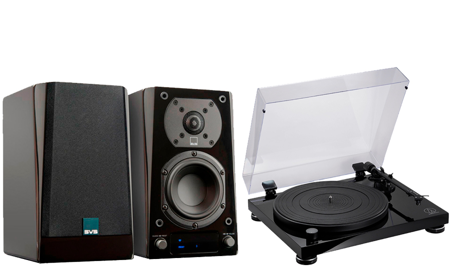 SVS Prime Wireless Speaker System + AT-LPW50PB - 43153
