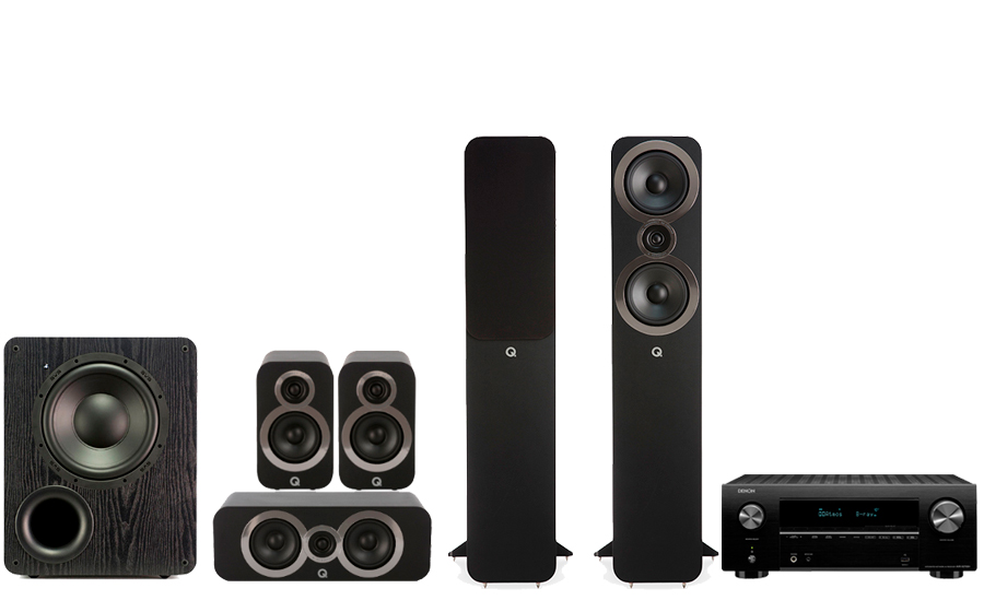 Denon AVC-X3700H​ + 3050i Cinema Pack + PB 1000 - 43238