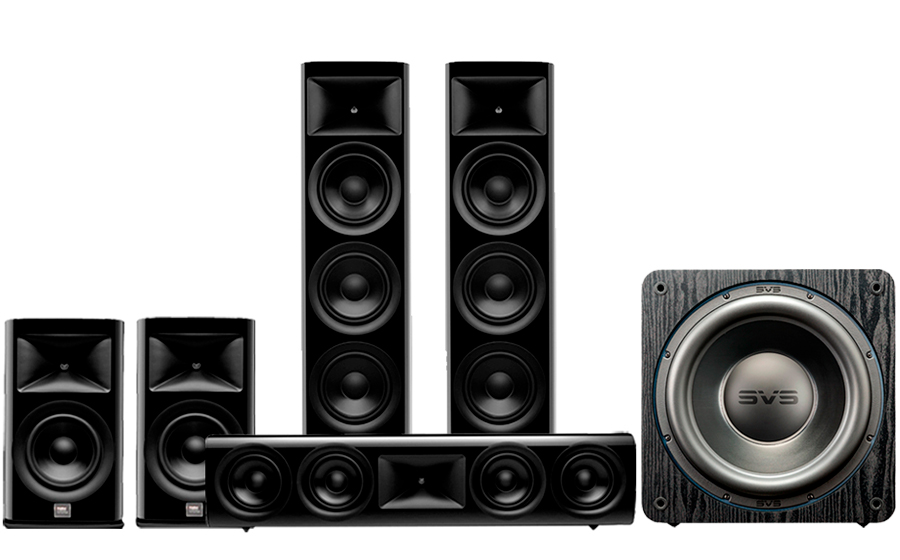 JBL HDI-3800 Cinema Pack 2 + SB3000 - 43437
