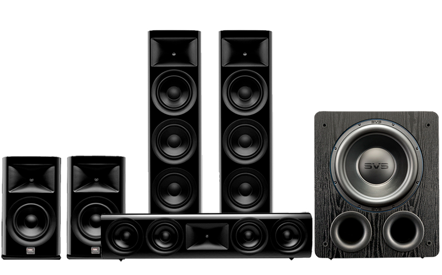 JBL HDI-3800 Cinema Pack 2 + PB3000 - 43438