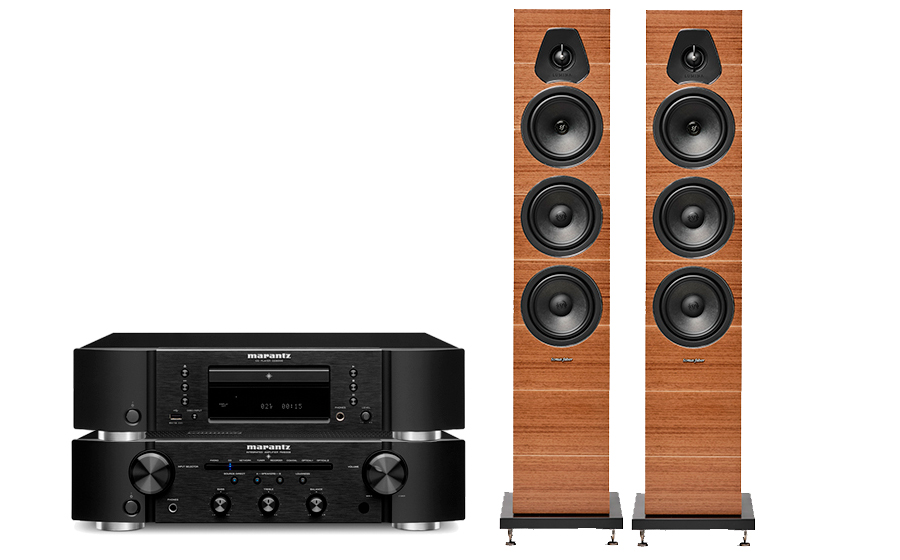 Marantz PM6007 + CD6007 +LUMINA III - 43451