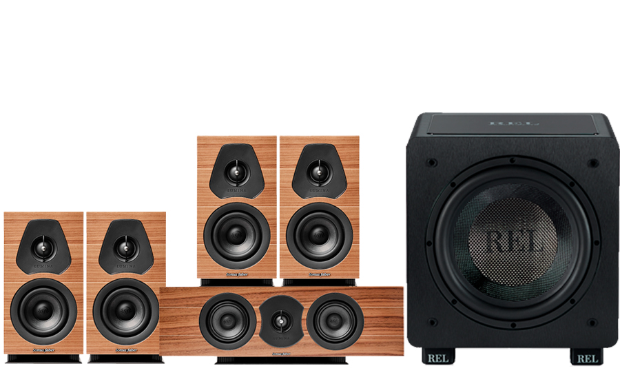 Sonus-Faber LUMINA I + CENTER I + HT1003 - 43495