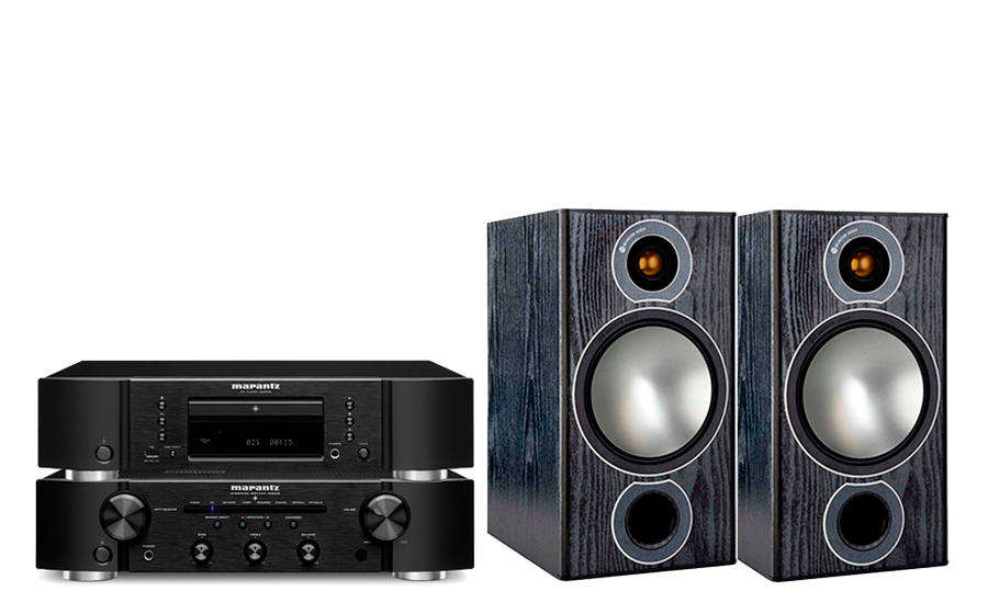 Marantz PM6007 + CD6007 + Bronze 2 - 43749
