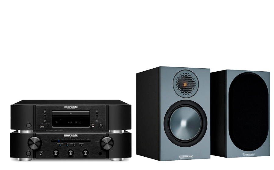 Marantz PM6007 + CD6007 + Bronze 50 - 43750