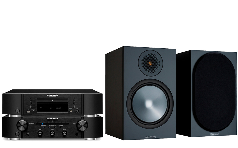 Marantz PM6007 + CD6007 + Bronze 100 - 43751